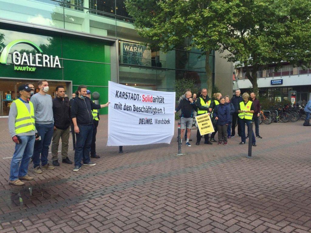 Galeria Karstadt Kaufhof im AEZ bleibt, dafür bangen die Mitarbeiter in Wandsbek